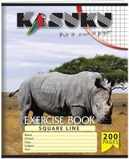 Exercise Book Kasuku A5 Squared 200 pages