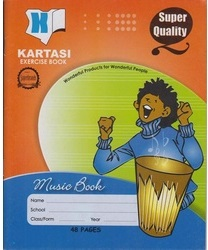Exercise Book Kartasi A5 Music 48 Pages
