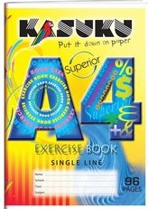Exercise Book Kasuku A4 Ruled 96 pages