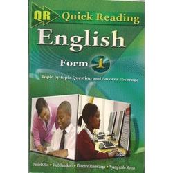 Quick Reading English Form 1