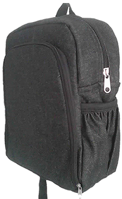 Padded Denim School Bag Small size